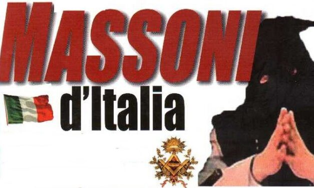 "Un elenco scaricabile di ""26 mila massoni italiani"""