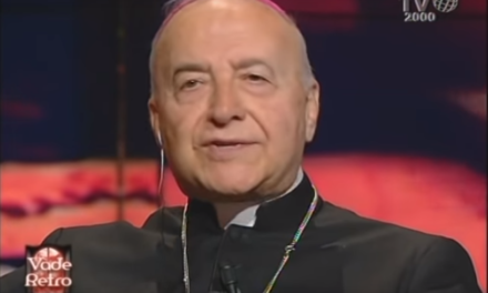 "Ultima video-intervista dell'esorcista Mons. Andrea Gemma: ""Medjugorje? Non è vero"""